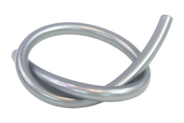 """Tygon tubing 12,7/9,5mm (3/8""""ID) silver antimicrobial"""