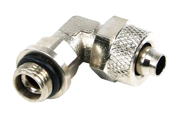 8/6mm (6x1mm) compression fitting G1/8 90° revolvable