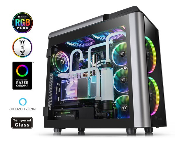 Thermaltake Level 20 GT RGB Plus Full-Tower black-silver