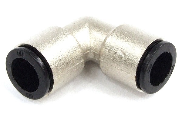 10mm L plug fitting nickel coated