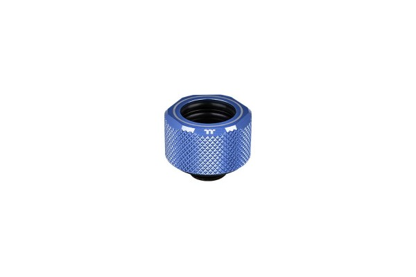Thermaltake Pacific C-Pro HardTube compression fitting 16mm OD to G1/4 - blue