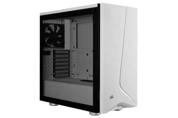 Corsair Carbide SPEC-06 Midi-Tower case - white incl. glass window