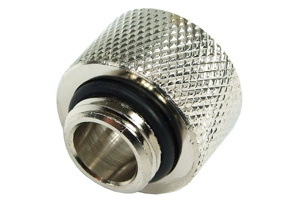 Reducing nipple G1/4 outer thread to G3/8 inner thread – knurled
