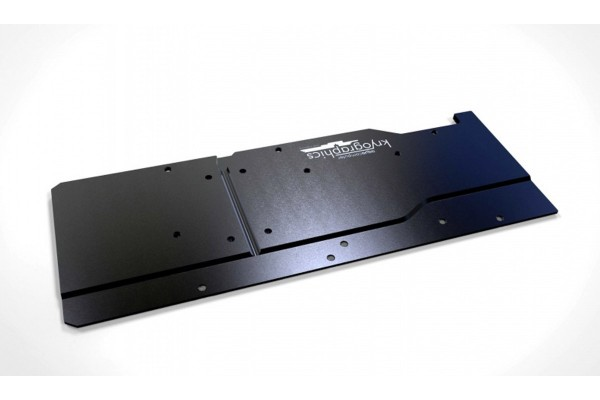Aquacomputer backplate for kryographics Pascal GTX 1080 and 1070, passive