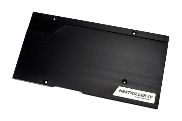Watercool HEATKILLER® IV eBC - Backplate for R9 Fury X