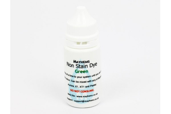 Mayhems Non Stain Dye Green 15ml