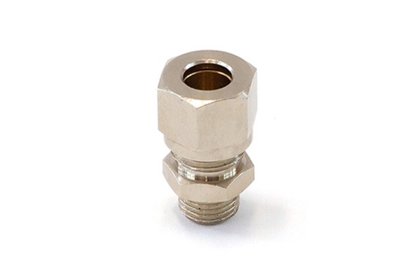 10mm compression ring fitting straight G1/4' (for pipes)