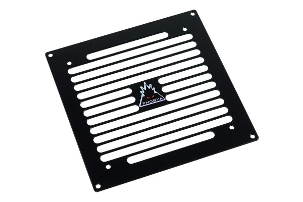 Phobya radiator grill (140) - Stripes - Black