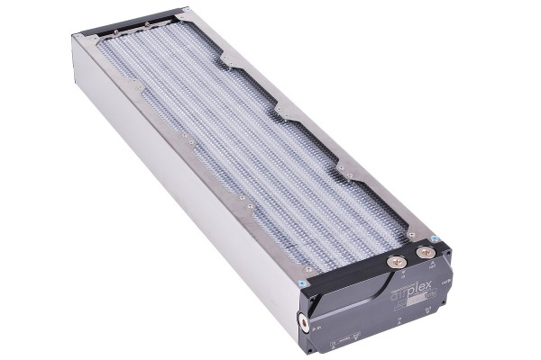 Aquacomputer airplex modularity system 480 mm, aluminum fins, one circuit, stainless steel side panels