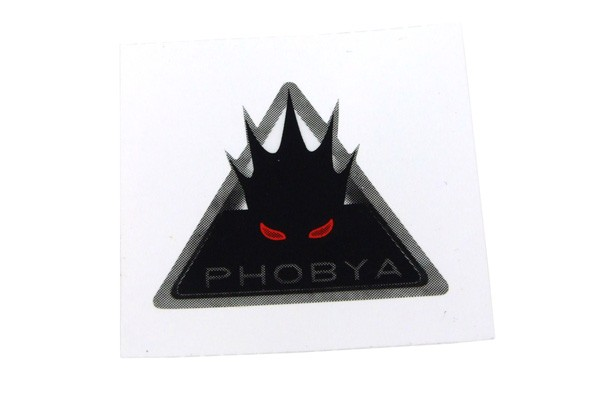 Phobya Sticker triangular (50x50mm)