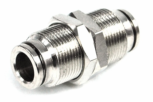8mm channel connector complete nickel coated