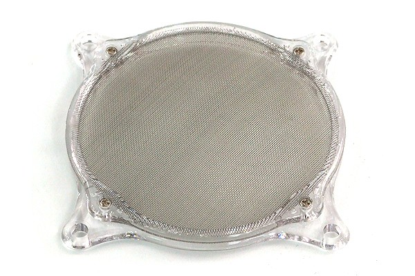 air filter Mesh 80mm frame transparent
