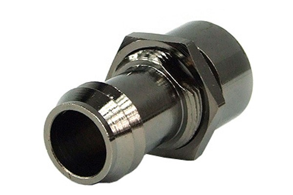 Bulkhead fitting G1/4' female thread to 13mm barbed fitting