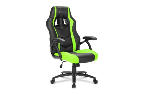Sharkoon Skiller SGS1 gaming chair - black/green