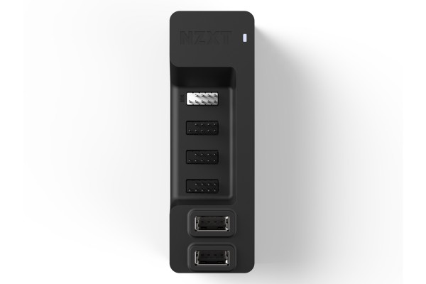 NZXT AC-IUSBH-M1 internal USB Hub 2.0 480 Mbit/s - black