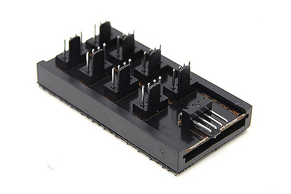 ModMyToys 4-Pin PWM Power Distribution PCB 8x 4Pin PWM Block