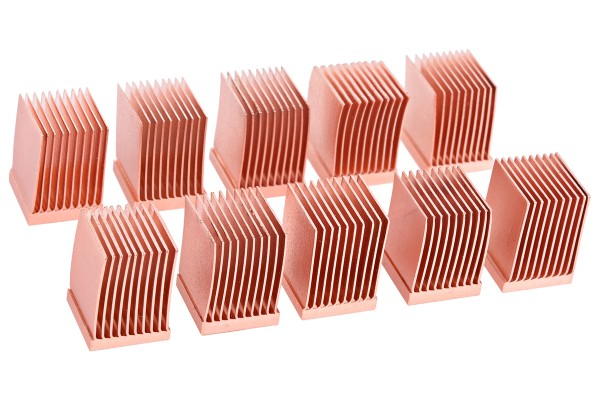 Alphacool GPU RAM Copper Heatsinks 10x10mm - 10pcs