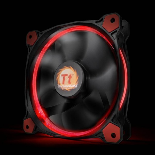 Thermaltake Riing 12 LED red, Casefan - (120x120x25mm)